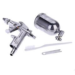 Airbrush Kit Spray Gun Sprayer Gravity Air Brush Set Aluminum Alloy Painting Paint Tool