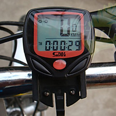 Cycling Mini Waterproof Black Computer Odometer speedometer Calories