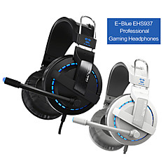 E-3lue Cobra 707 Blue Light Over-Ear Headset Profesional Gaming con micrófono para PC