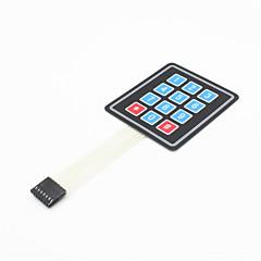 3x4 matrix 12 sleutel membraan schakelaar toetsenbord toetsenbord