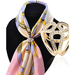 Kadın Broşlar Moda lüks mücevher kostüm takısı Simüle Elmas alaşım Mücevher Uyumluluk Düğün Parti Özel Anlar Doğumgünü Günlük