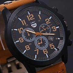 Men's Luxury Watches Liandu Style Brand Sports Watches 2015 Quartz Watch Casual Men Military Waterproof Leather Watch