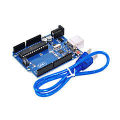 uno r3 for Arduino (nøytral) utvikling bord, single-chip mikro til usb-kabel