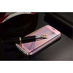 jasne lusterko klapki przypadku pokryć oryginalną przezroczystą obudowę Galaxy S5 / s6 krawędzi plus / S6 krawędzi / S6 (inne kolor)