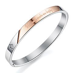 ailaicity®Titanium Steel Couple Bracelet Valentine's Gift