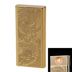 """personnalité originalité charge plus léger coupe-vent en métal léger mince cigarette électronique """"dragon"""" ultra silencieuse"""