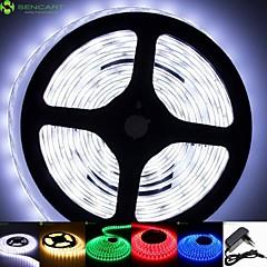 2m 50w 5630x120leds hvid / blå / rød / varm hvid / gul / grøn / kold hvid IP68 fleksible LED lys strimler 100-240 12v 2a