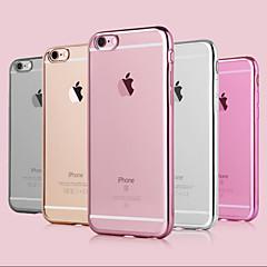 Til iPhone 8 iPhone 8 Plus iPhone 7 iPhone 7 Plus iPhone 6 iPhone 6 Plus Etuier Belægning Bagcover Etui Helfarve Blødt TPU for Apple