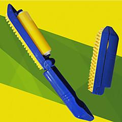 Ajuda para Treino Escovas Portátil Silicone / Plástico Azul / Amarelo