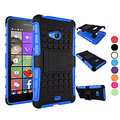 Mert Nokia tok Ütésálló / Állvánnyal Case Hátlap Case Páncél Kemény PC NokiaNokia Lumia 950 / Nokia Lumia 830 / Nokia Lumia 730 / Nokia