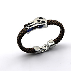 Jewelry Inspired by SoulEater Cosplay Anime Cosplay Accessories Bracelet Black Alloy / PU Leather Male / Female