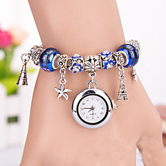 Fashion Women's Watches Diamond Beads Bracelets Analog Quartz Watches(Assorted Colors) Cool Watches Unique Watches