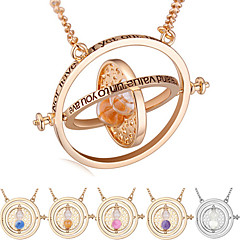 European Style Fashion Harry Potter - Time Converter Hourglass Necklace(Not Easy to Fade)
