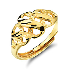 Ms 18 K Gold 8 Word Ring