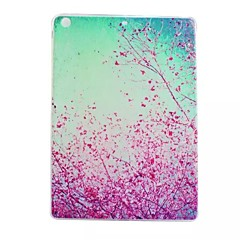 Cherry Blossoms Painted TPU Tablet computer case for ipad air