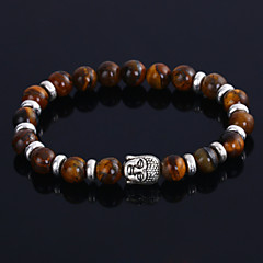 Lureme®New Lava Transport Prayer Beads Bracelet