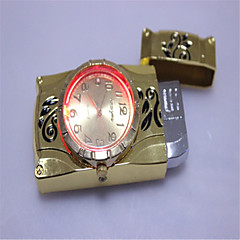Shining Electronic WatchBeautiful Models Straight Metal Lighters