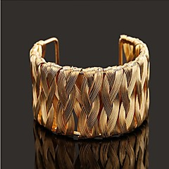 D Exceed 2015 New Fashion Woman Jewelry With High Quality Gold-plated Silver Bangles For Women