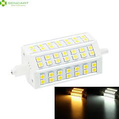 10W R7S Reflektory LED Do zabudowy 42 SMD 5060 800-1000 lm Ciepła biel / Zimna biel Ściemniana AC 85-265 V 1 sztuka