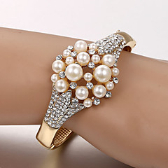Bracelet/Tennis Bracelets Pearl / Alloy / Rhinestone Wedding / Party / Daily / Casual Jewelry Gift Gold,1pc