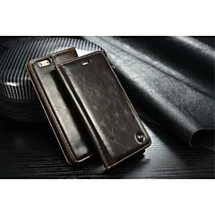 caseme luxe lederen portemonnee kaartsleuf flip case met standaard voor de iPhone 5 / 5s (diverse kleuren)
