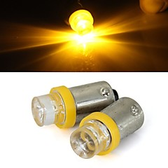 2 x bil 1156 Ba9s T4W gul glödlampa blinkersparkerings backup ljus lampa