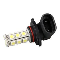 2pcs car auto H10 / 9145/9005 / HB3 Nebelscheinwerfer Glühlampe weißes Licht 18 SMD LEDs Licht 12V