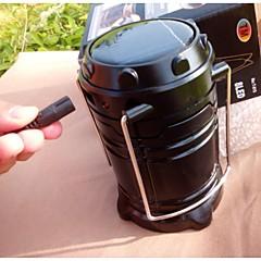 랜턴 & 텐트 조명 ( 충전식 ) - 백열등 및 크립톤 5 모드 小于200 루멘 USB 기타 태양 / DC - 캠핑/등산/동굴탐험 기타 圆柱形