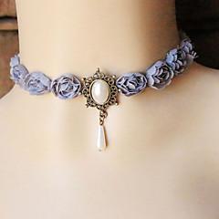 Choker-Halsband / Gotiska smycken ( Spets , Som bilden ) - till Bröllop / Party / Dagligen / Casual