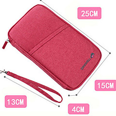 "Travel Wallet / Passport Holder & ID HolderForTravel Storage Fabric 9.8""*5.9""*1.6""(25cm*15cm*4cm)"