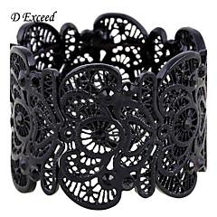 D Exceed Antique filigree bracele stetch bracelets for women spring 2016 bud silk series zinc alloy bracelet bangles