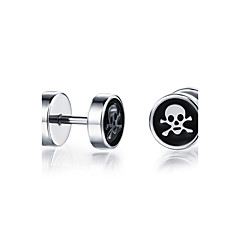 Z&X® Fashion Platinum Plated CrossBones Casual/Daily/ Party/ Casual Stud Earrings 2pcs