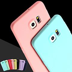 For Samsung Galaxy etui Andet Etui Bagcover Etui Helfarve Silikone for Samsung S6 edge plus S6 edge S6 S5 S4 S3