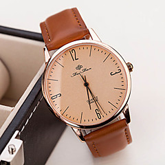 Women's Fashion Vintage Leather Guartz Watch(Assorted Colors)