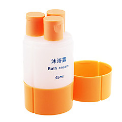 "Travel Bottle & CupForTravel Drink & Eat Ware Plastic 4.2""*2.1""*2.1""(10.6cm*5.3cm*5.3cm)"
