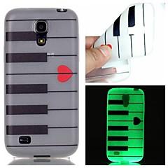 Na Samsung Galaxy Etui Świecące w ciemności Kılıf Etui na tył Kılıf Linie / fale TPU Samsung S6 edge plus / S6 / S5 / S4 Mini / S3