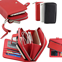 Embossed PU Leather   Multifunction Lanyard  Case for Samsung Galaxy Note 3/4/5/Note 5 edge (Assorted Colors)