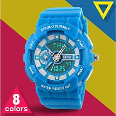 Masculino Relógio de Pulso Quartzo Japonês LCD / Calendário / Cronógrafo / Impermeável / Dois Fusos Horários / alarme / Relógio Esportivo