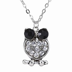 Necklace Pendant Necklaces Jewelry Wedding / Party / Daily / Casual Alloy Silver 1pc Gift