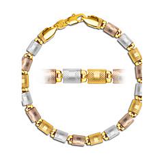 Esküvő / Parti / Napi / Hétköznapi / Sport / N/A - Lánc & láncszem karkötők (Ezüstözött / Arannyal bevont / Rózsa arany bevonattal)