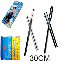Weapon / Sword Inspired by Naruto Sasuke Uchiha Anime Cosplay Accessories Sword Black / Silver Alloy Male / Female