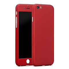 High Premium PC Full Body Cover with Tempered Glass Film Case for iPhone 6/6S/6 Plus/6S Plus
