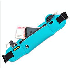 Sports Bag Waist Bag/Waistpack / Belt Pouch/Belt Bag / Cell Phone Bag Waterproof / Quick Dry / Multifunctional / Phone/Iphone / Close Body