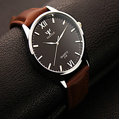YAZOLE Men Watches Fashion Round Roman Digital Men's Watches Analog Quartz Wristwatch Dress Watch Gift idea Wrist Watch Cool Watch Unique Watch