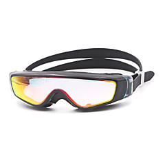 Swimming Goggles Unisex Anti-Fog Silica Gel PC White / Black Pink / Black / Blue / Dark Blue / Purple