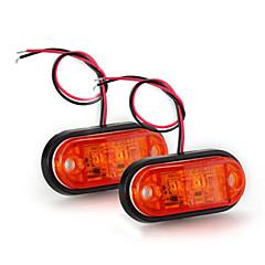 2 X Led Side Light Bulb Lamp 12V Flashing Yellow Indicator