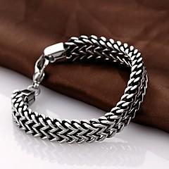 Personality Retro Men's Stainless Steel Bracelet Jewelry