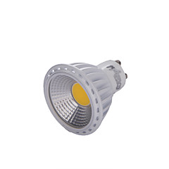 YouOKLight® GU10 6W COB LED Dimmable Spotlight Warm White /White 600lm (100-120V/220-240V)