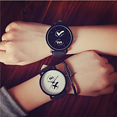 2016 Fashion YES/NO Couple's Wrist Watch Watches Men Fruit Woman Watch Simple Students Watch(Assorted Color)
