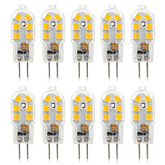 YWXLIGHT® 10pcs G4 4W 14*2835SMD 300-360LM Warm/Cool White T DC 10-12V/AC 220-240V